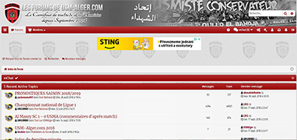 Les Forums de USM-Alger.com
